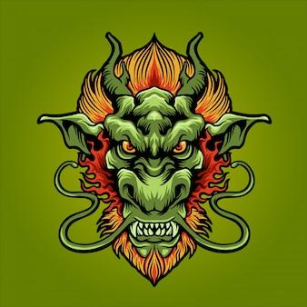 Il drago di terra verde