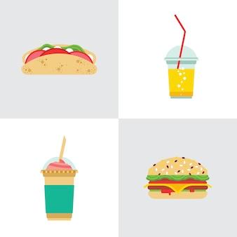Il fast food mangia