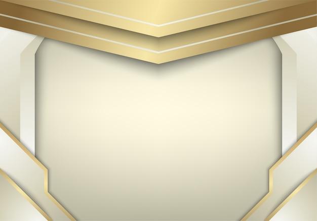 Il fondo astratto dell'oro bianco si combina con effetto della luce.