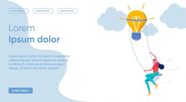 Il gioco luminoso dell'illustrazione include l'immaginazione.