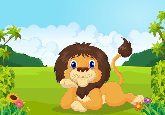 Il leone del fumetto si sdraia