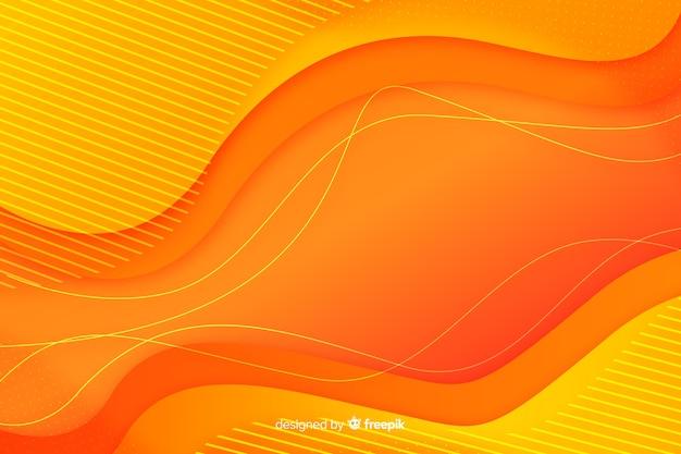 Il liquido variopinto di pendenza modella la priorità bassa