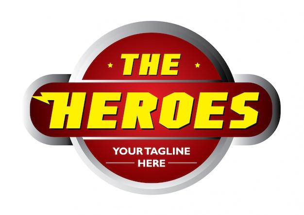 Il logo forte eroi
