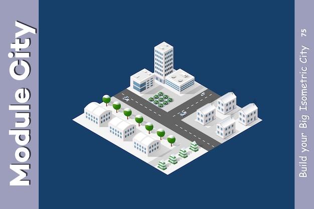 Il modulo isometrico è area landscape