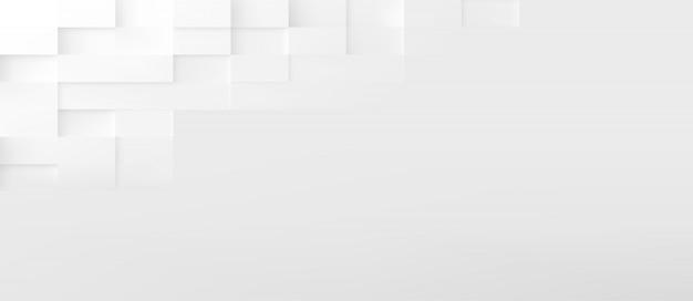 Il rettangolo modella la priorità bassa astratta di tecnologia. 3d design minimalista geometrico