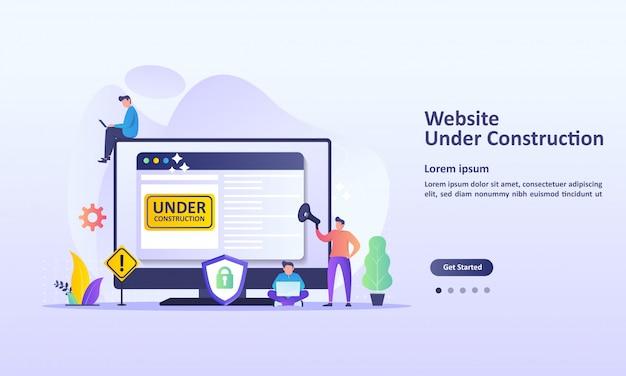 Il sito web è in costruzione