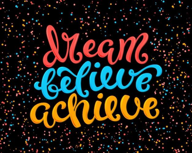 Il sogno crede di ottenere lettere