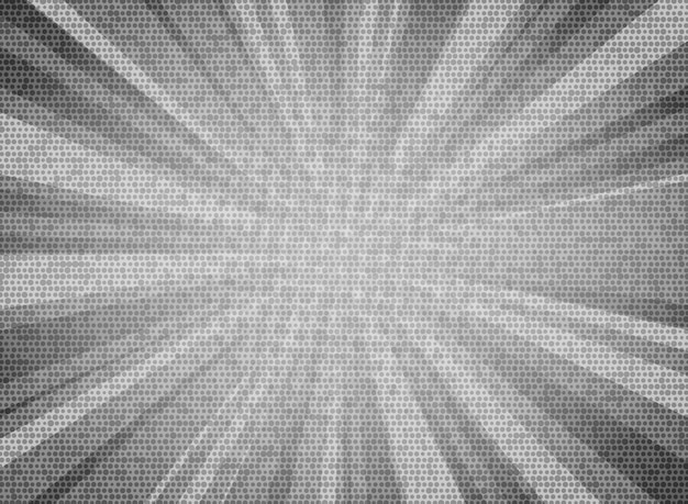 Il sole astratto ha scoppiato il fondo grigio bianco di progettazione di struttura del modello del cerchio di colore.