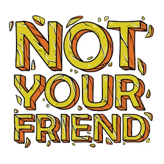 Il tuo amico non cita disegnati a mano