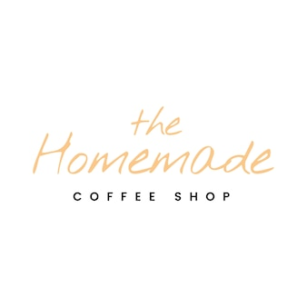 Il vettore di logo della caffetteria in casa