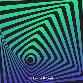 Illusione ottica sfondo stile piano