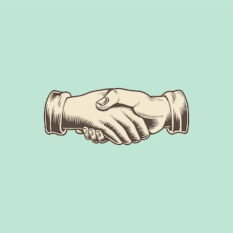 Illustation of a handshake