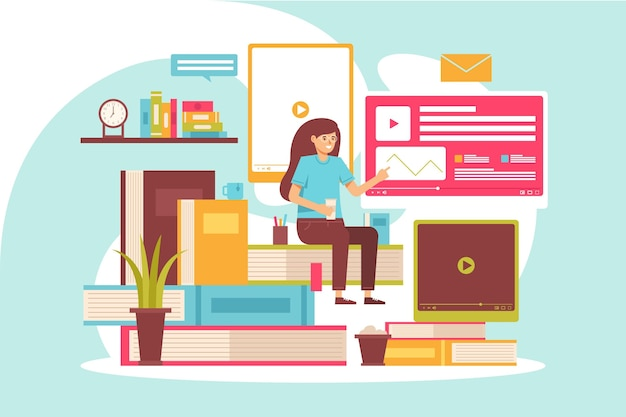 Illustrati corsi online per studenti in quarantena
