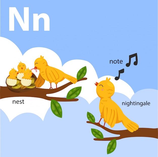 Illustrator of az set for n isolated