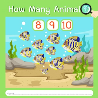 Illustratore di quanti animali quattro