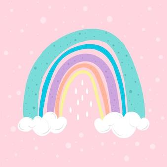 Illustrazione arcobaleno