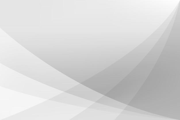 Illustrazione astratta bianca e d'argento di vettore del fondo