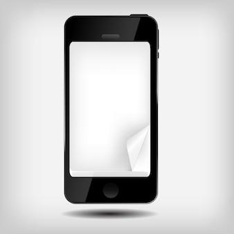 Illustrazione astratta del telefono cellulare
