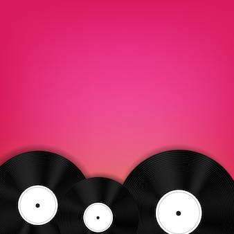 Illustrazione astratta della priorità bassa di musica