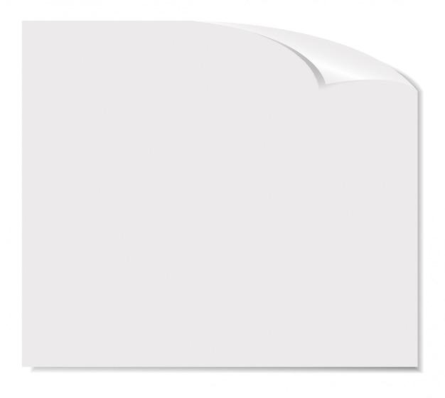 Illustrazione bianca della pagina in bianco