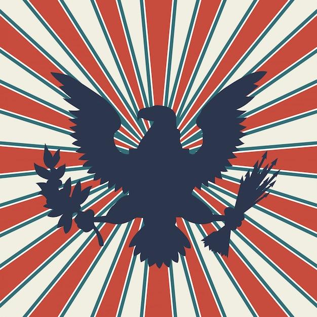 Illustrazione degli stati uniti