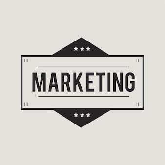 Illustrazione del banner di marketing