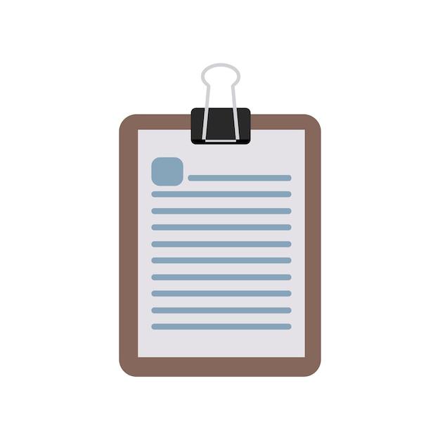 Illustrazione del blocco note