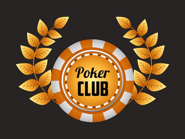 Illustrazione del club di poker