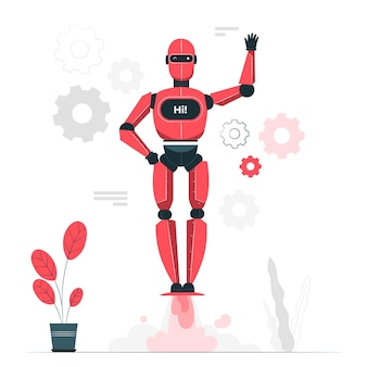 Illustrazione del concetto android
