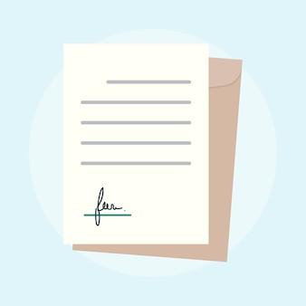 Illustrazione del concetto di accordo di affari