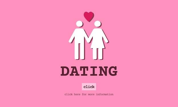 Illustrazione del concetto di amore