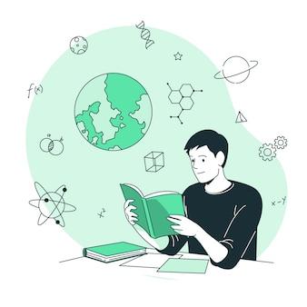 Illustrazione del concetto di apprendimento