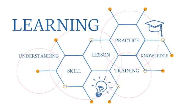 Illustrazione del concetto di educazione