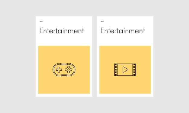 Illustrazione del concetto di gioco