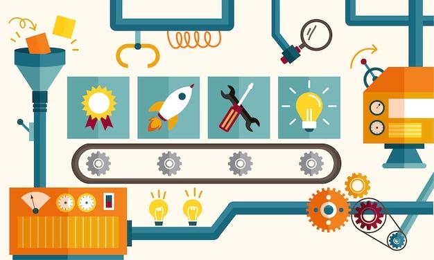 Illustrazione del concetto di idee