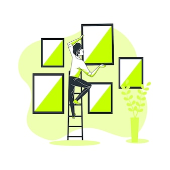 Illustrazione del concetto di immagine