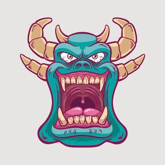 Illustrazione del demone