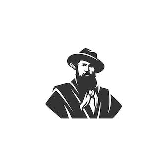 Illustrazione del disegno del ranger isolata