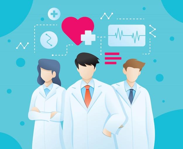Illustrazione del dottore