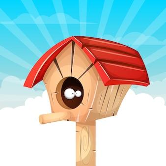 Illustrazione del fumetto birdhouse