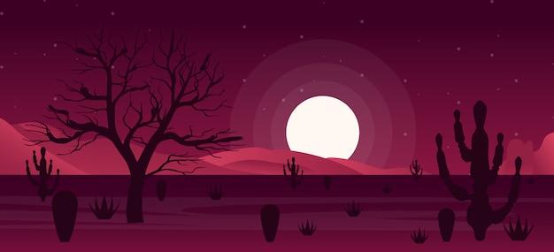 Illustrazione del gioco notturno