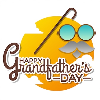 Illustrazione del giorno dei nonni