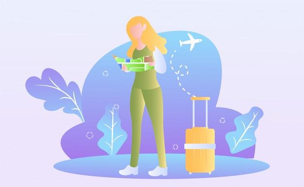 Illustrazione del giorno del turismo