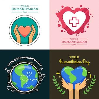Illustrazione del giorno umanitario mondiale