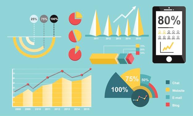 Illustrazione del grafico di analisi dei dati