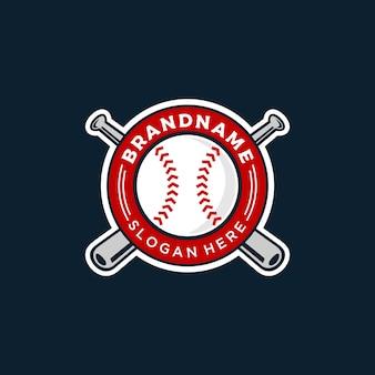 Illustrazione del logo di baseball