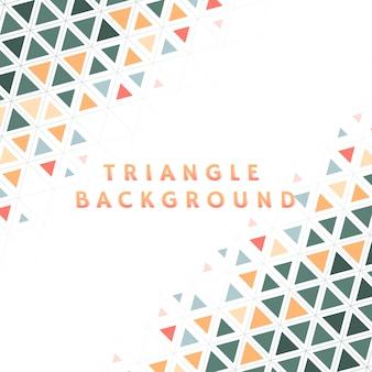 Illustrazione del modello triangolo colorato