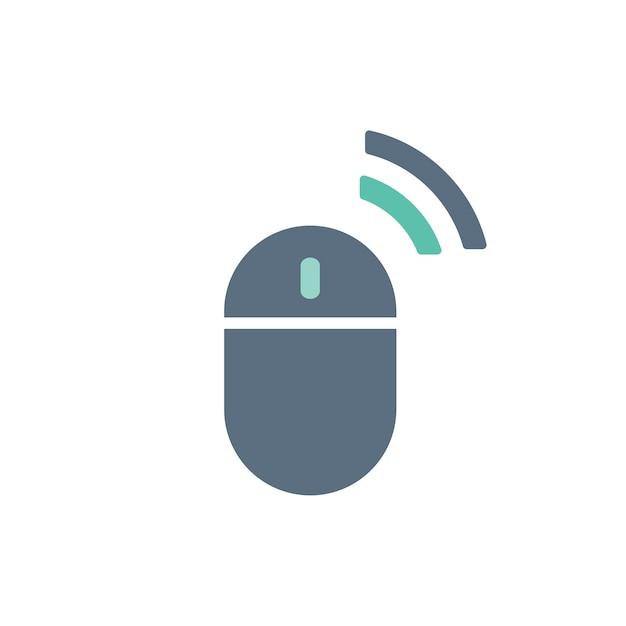Illustrazione del mouse del computer