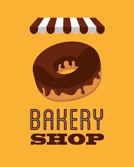 Illustrazione del negozio di panetteria