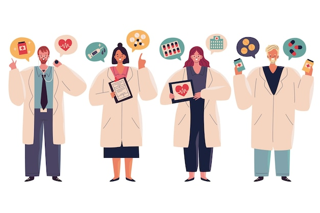 Illustrazione del pacchetto farmacista